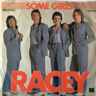 "Racey - Some Girls (7"") (VG/G)"